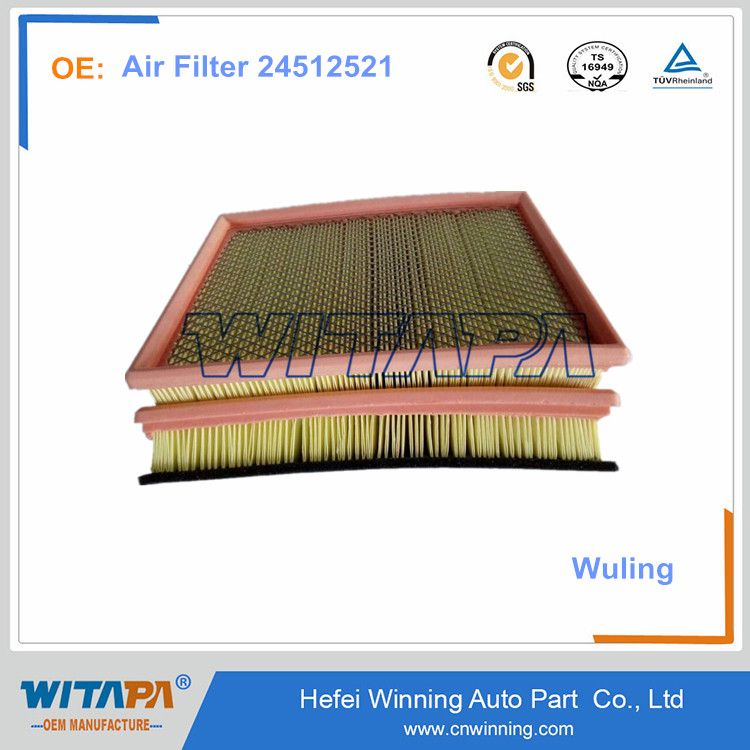 Oem High Quality Chevrolet N300 Spare Parts 24512521 Air Filter Hefei Chevrolet Oem