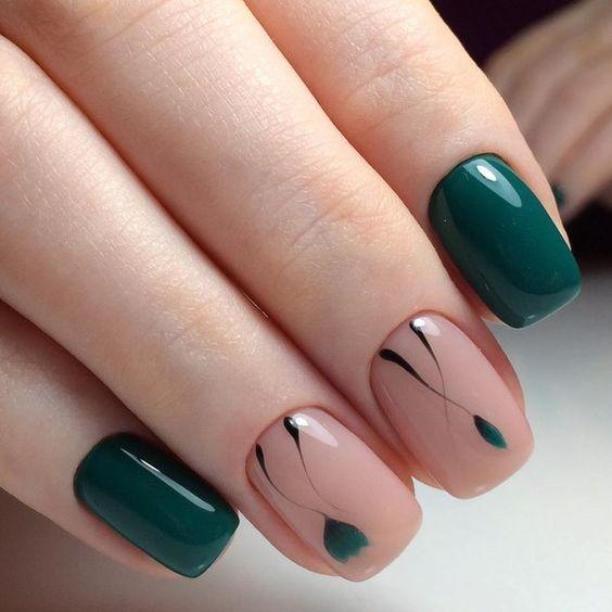 uñas de gel modelos 2018 | elegante uñas | Pinterest | Manicure ...