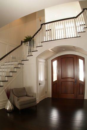Lake Michigan Home entry design - I like that the stairway isn't the on lake mi, lake dubay dam, lake michiga,