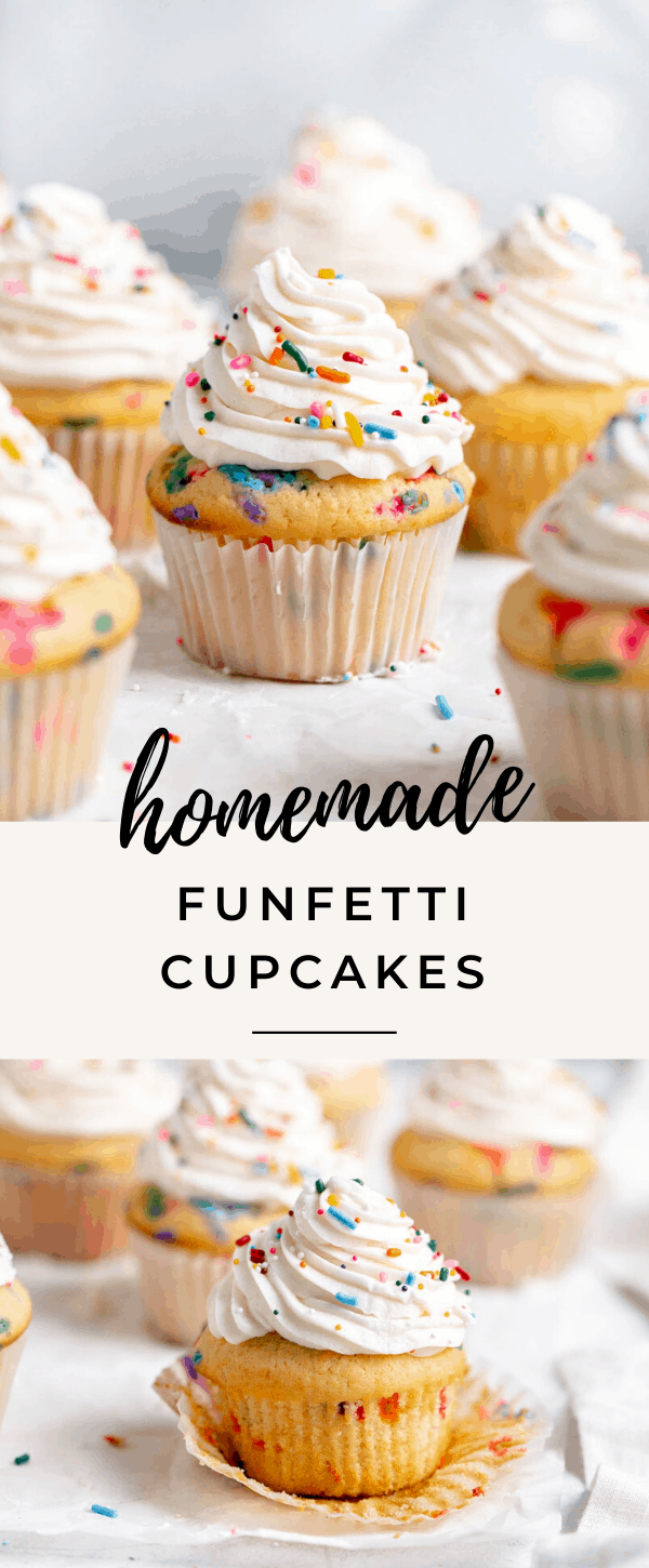 Photo of Homemade Funfetti Cupcakes – Broma Bakery