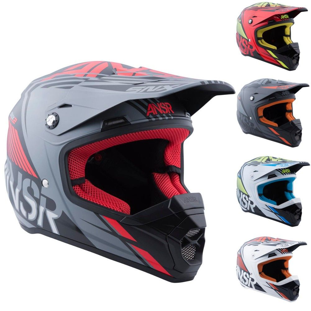 Answer Racing Snx 2 Youth Motocross Helmets