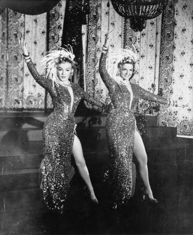 film 1953 - Gentlemen prefer blondes - Divine Marilyn Monroe