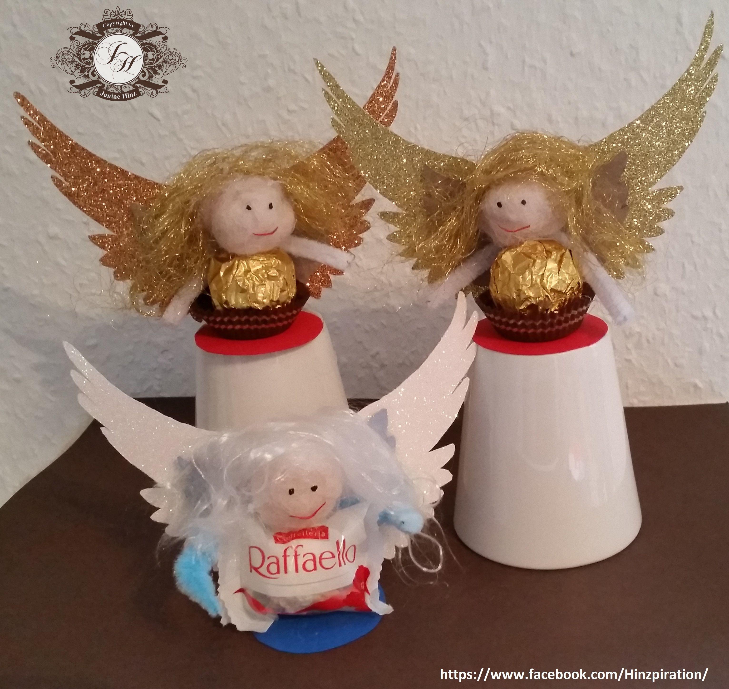 Weihnachten 2015   Geschenkidee: Rocher /Raffaello Engel. Vorlage Für Die  Flügel