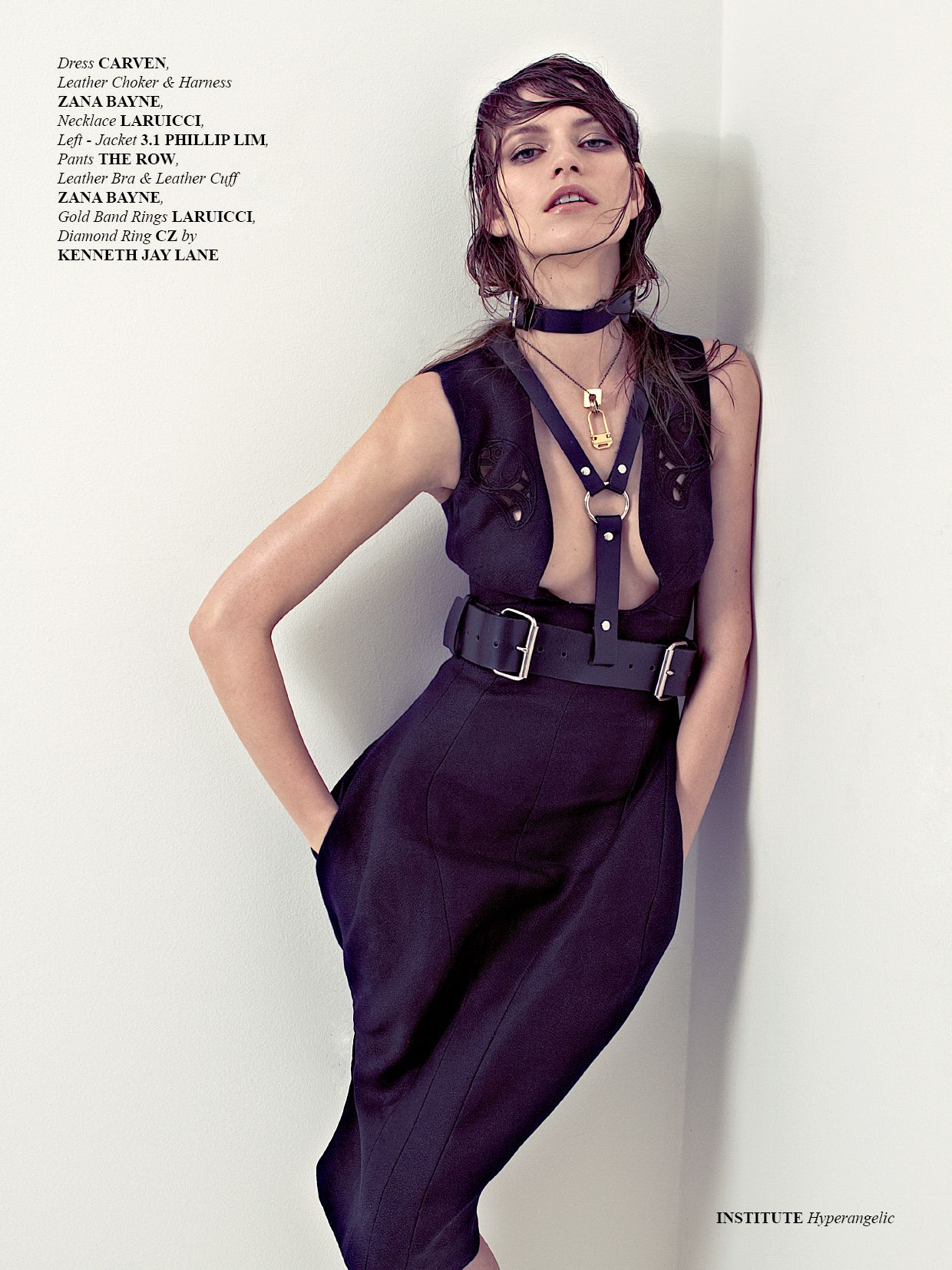 how to wear a harness fashion