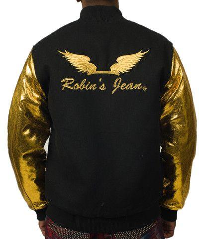 Teddy Gold Jacket (Robinu0026#39;s Jean) at PureAtlanta.com   ROBINu0026#39;S JEANS NEVER SEEN   Pinterest