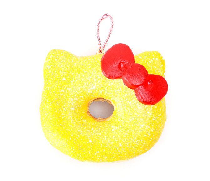 Hello Kitty Squishy: Lemon Glazed Donut   Hello kitty cake