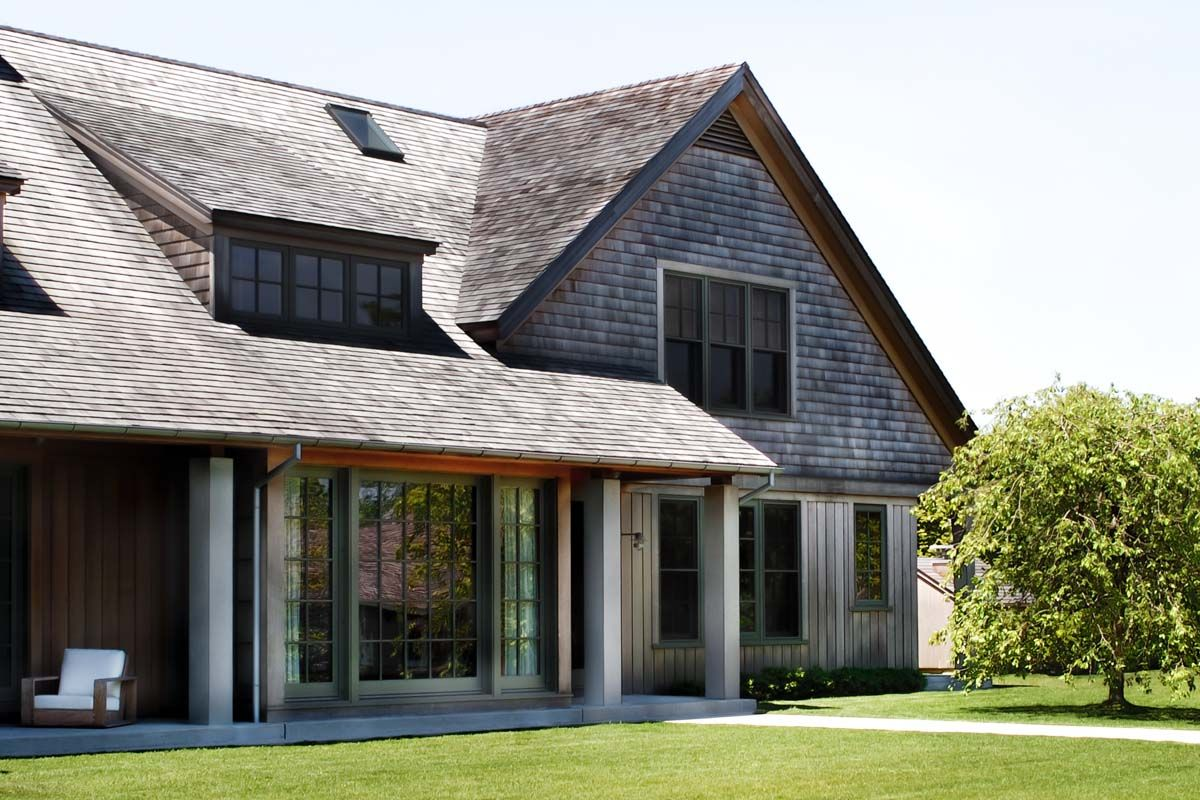 Contemporary Shingle Style House Design