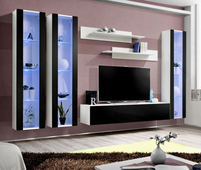Modern Wall Units For Living Room: Idea D5 - Living Room Furniture