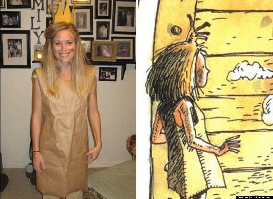 16 Not Trashy, Just Brilliant Halloween Costumes For Women #paperbagprincesscostume