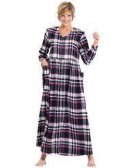 544fe2b650e Long Flannel Nightgowns for Women