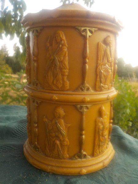 Vintage Deko Kerze Figuren Advent Weihnachten Deko Geschenk