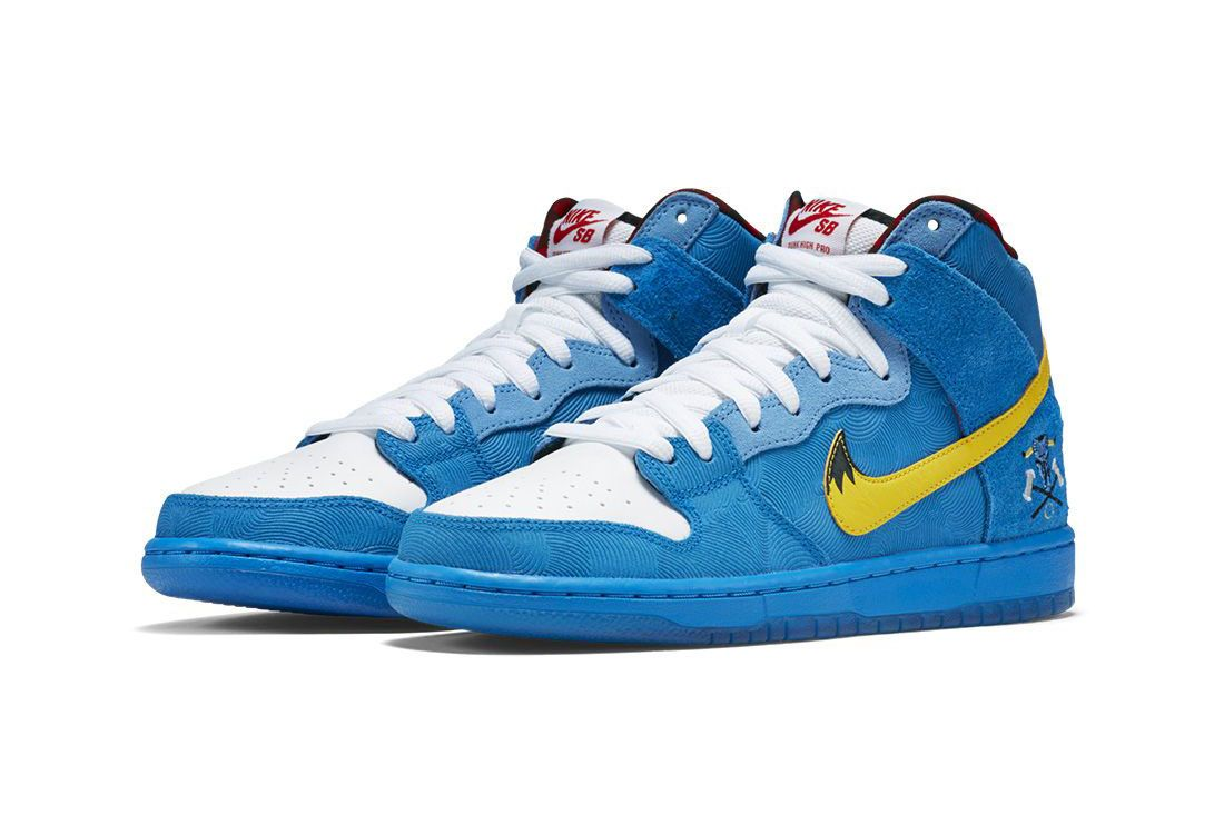 """Nike SB Dunk High """"Space Jam"""": Official First Look & Info ..."""