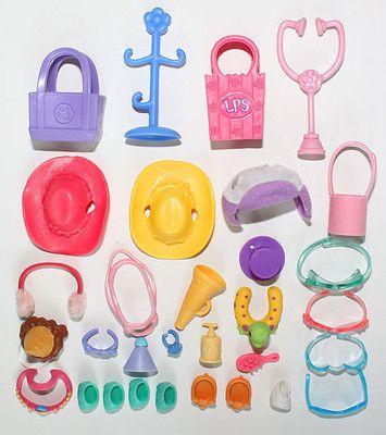 Littlest Pet Shop Lps Accessory Lot Clothes Sunglasses Shoes Slippers Ebay Lps Accessories Littlest Pet Shop Lps Pets