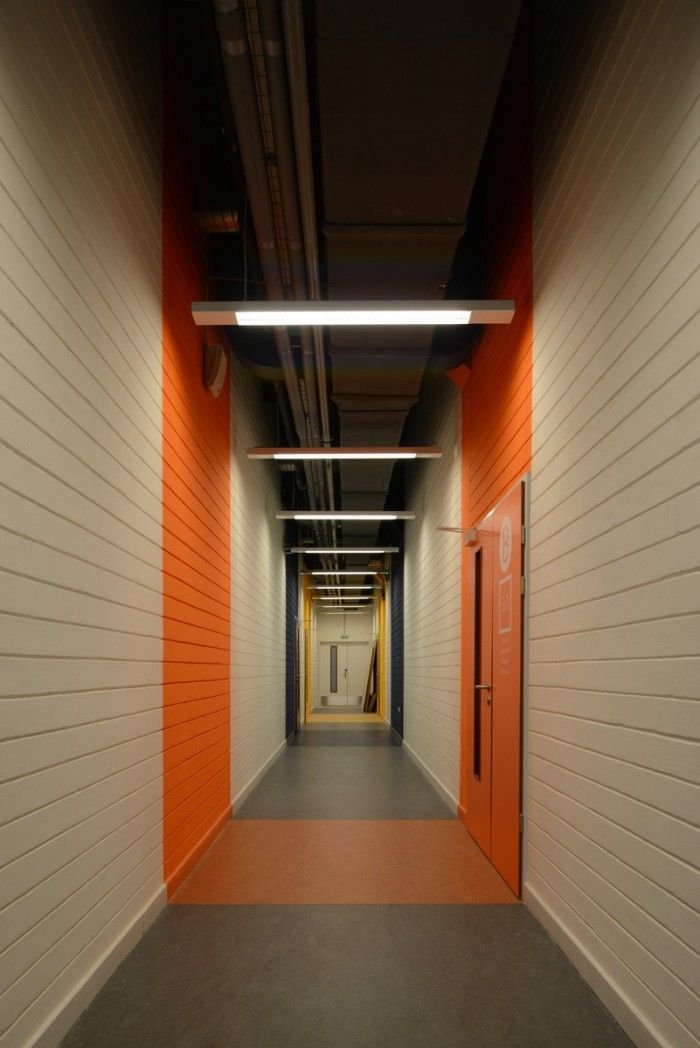 Office Tour The Moscow Architectural School Panacom Corridor
