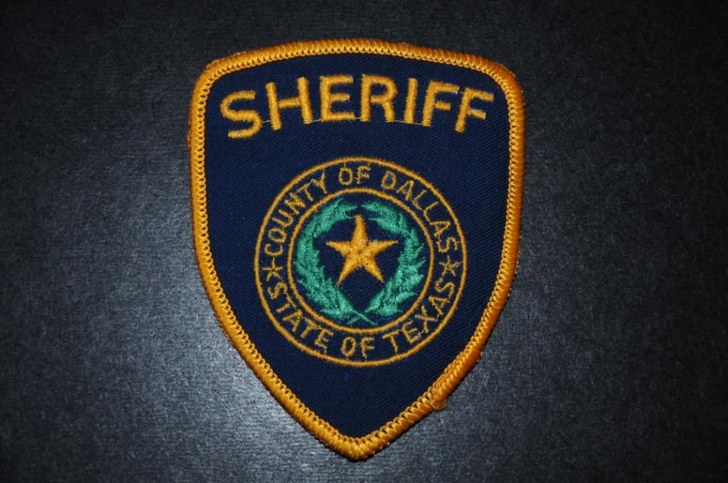 Dallas County Sheriff Patch, Texas   Texas   Police patches