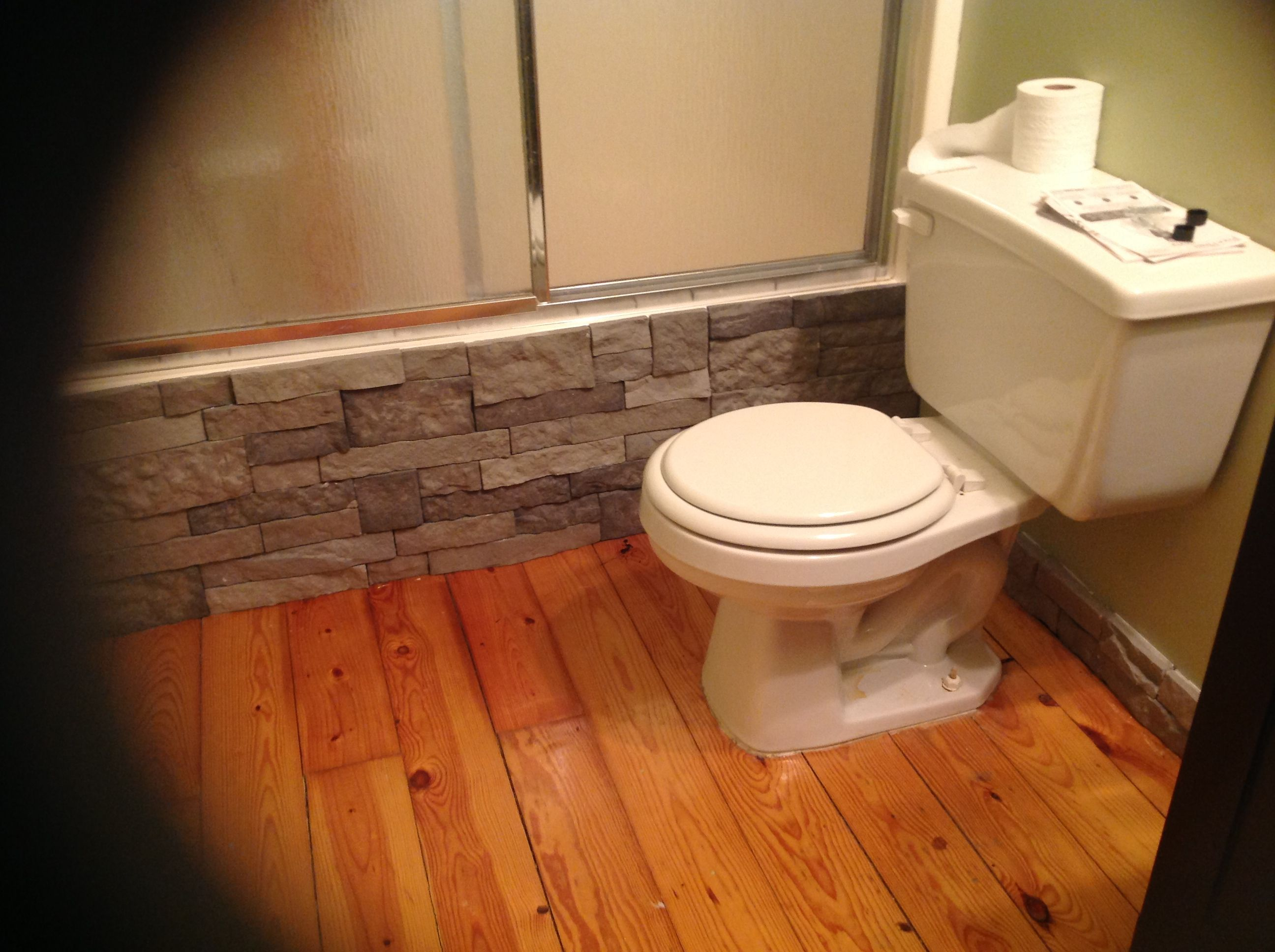Guest Bathroom Ideas With Pleasant Atmosphere: Chad And I Are Doing Fireplace Now. It Us Addicting! Used