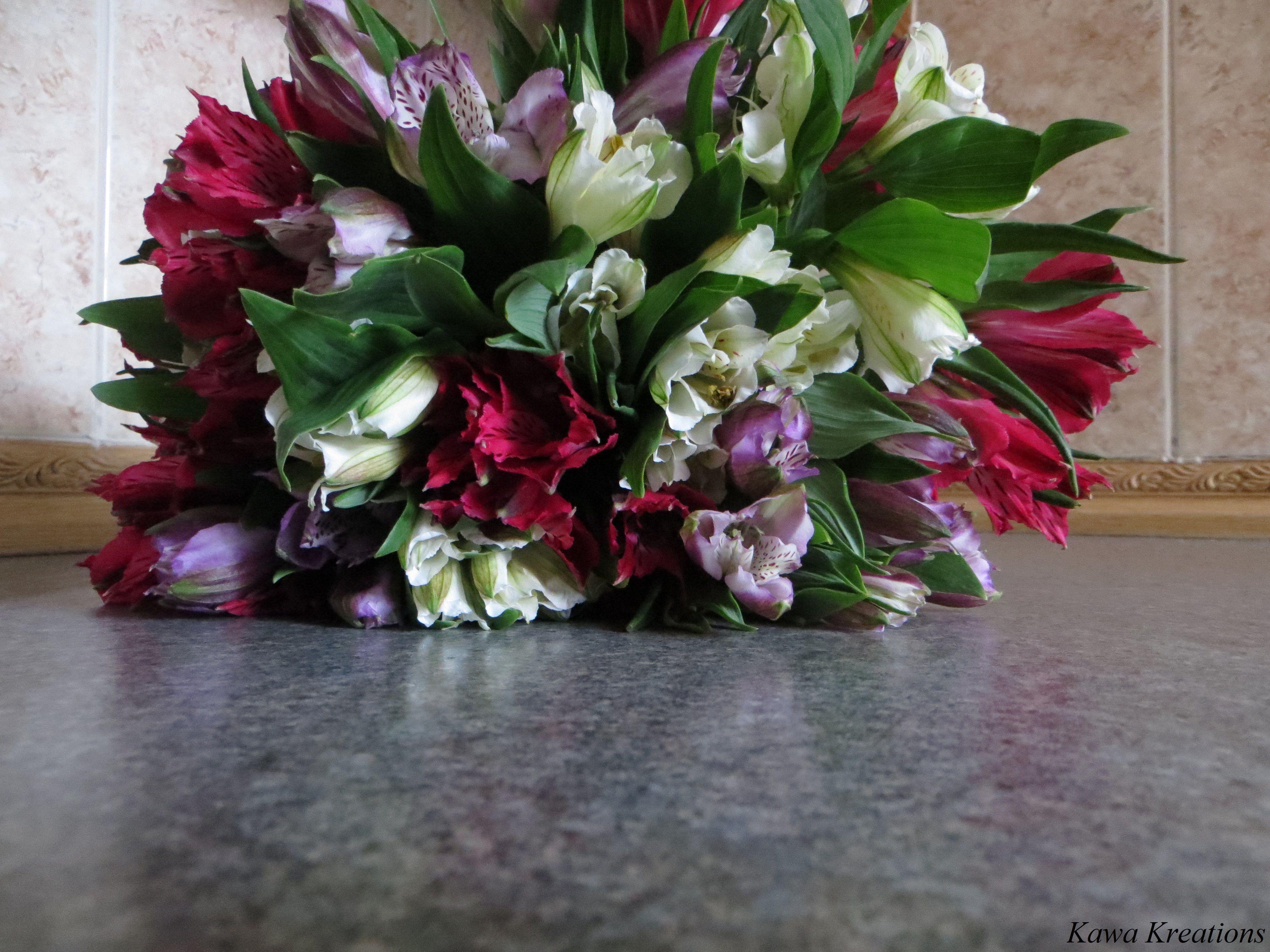 February Birthday Flowers Kawa Kreations Pinterest
