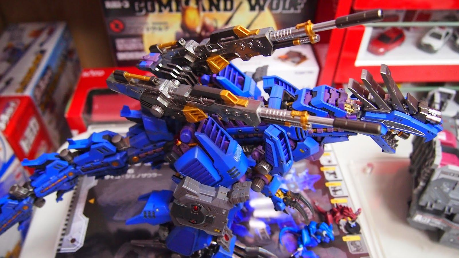 Zoids Group Build 2014 TOYMAKER