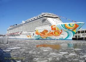 Norwegian Getaway Photo Tour and guide page 9 | Sail away