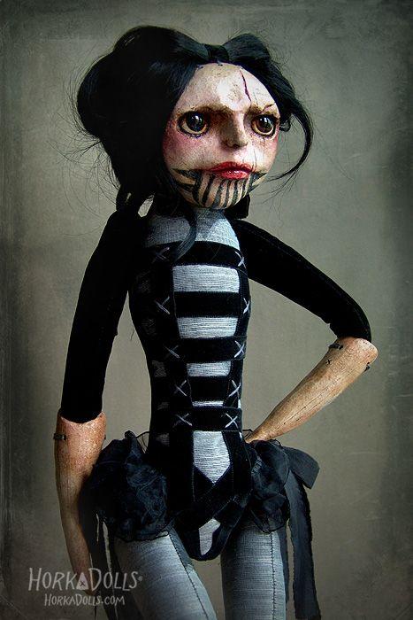 art doll LIWIA HorkaDolls