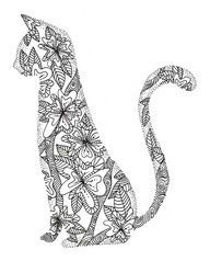 Coloring Pages For Adults Cats