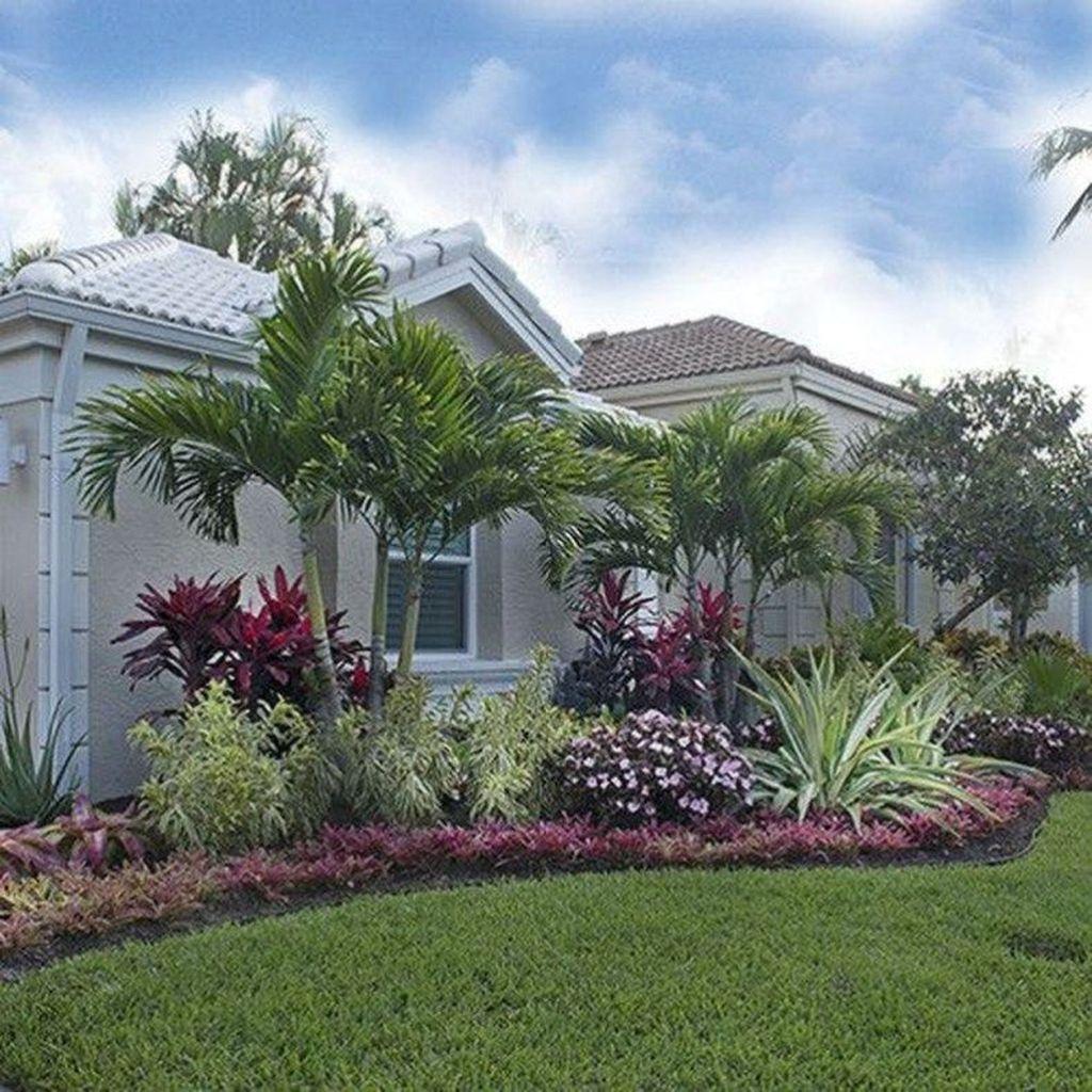 34 Lovely Tropical Garden Design Ideas Tropischelandschaftsgestaltung 34 Lovely Trop Tropical Garden Design Front Yard Landscaping Design Tropical Landscaping Florida backyard garden design ideas