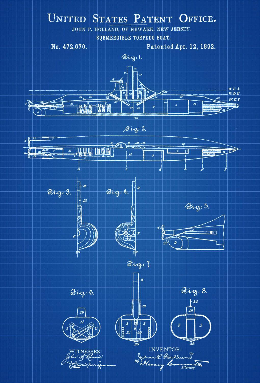 Submarine patent print vintage submarine submarine blueprint submarine patent print vintage submarine submarine blueprint naval art sailor gift nautical decor submarine poster navy malvernweather Images