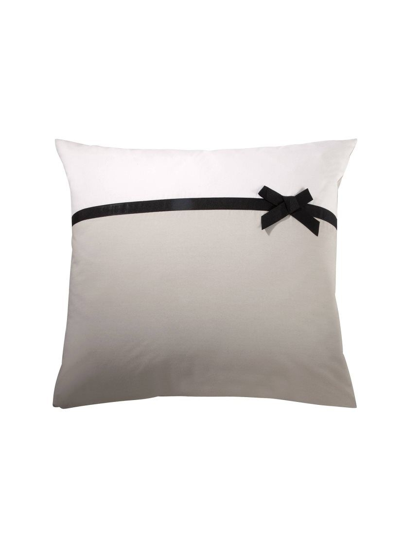 Funda cojín o almohada ROMAN de percal 100% algodón 3 SUISSES
