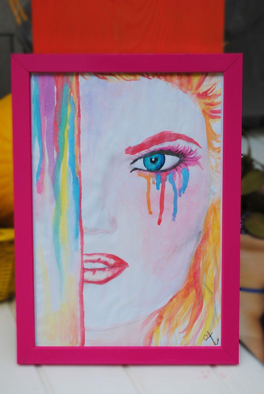 Many Mornings Salvadorable Calzini multicolori con artista creatore arte pittore dipinti