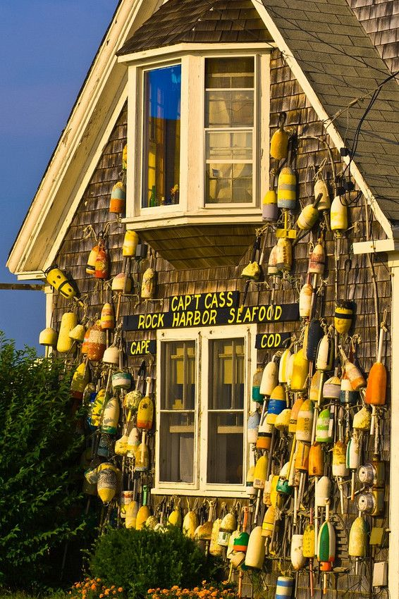 Captain C Seafood Restaurant Rock Harbor Cape Cod Usa