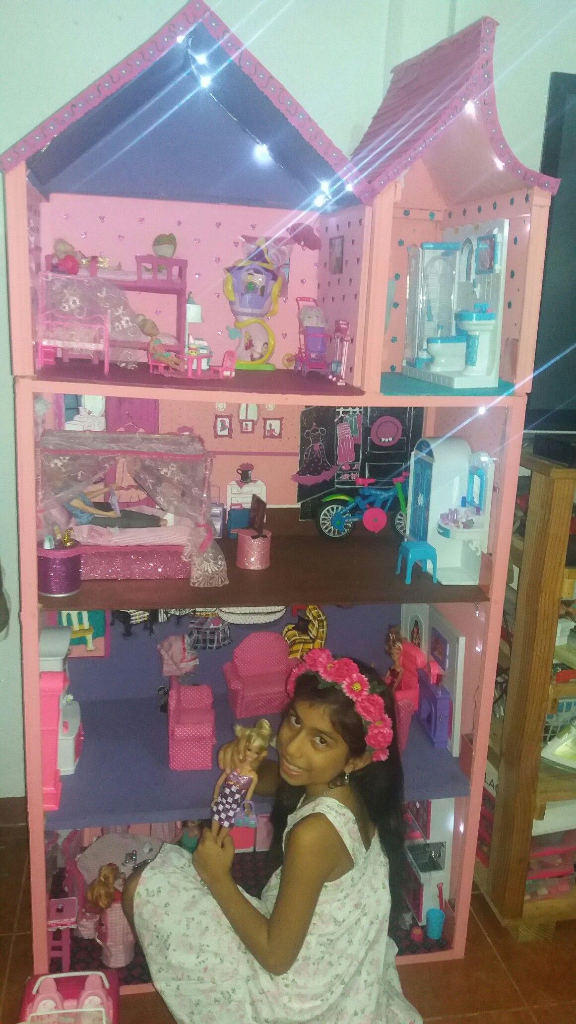 Casa para barbie Barbie Pinterest