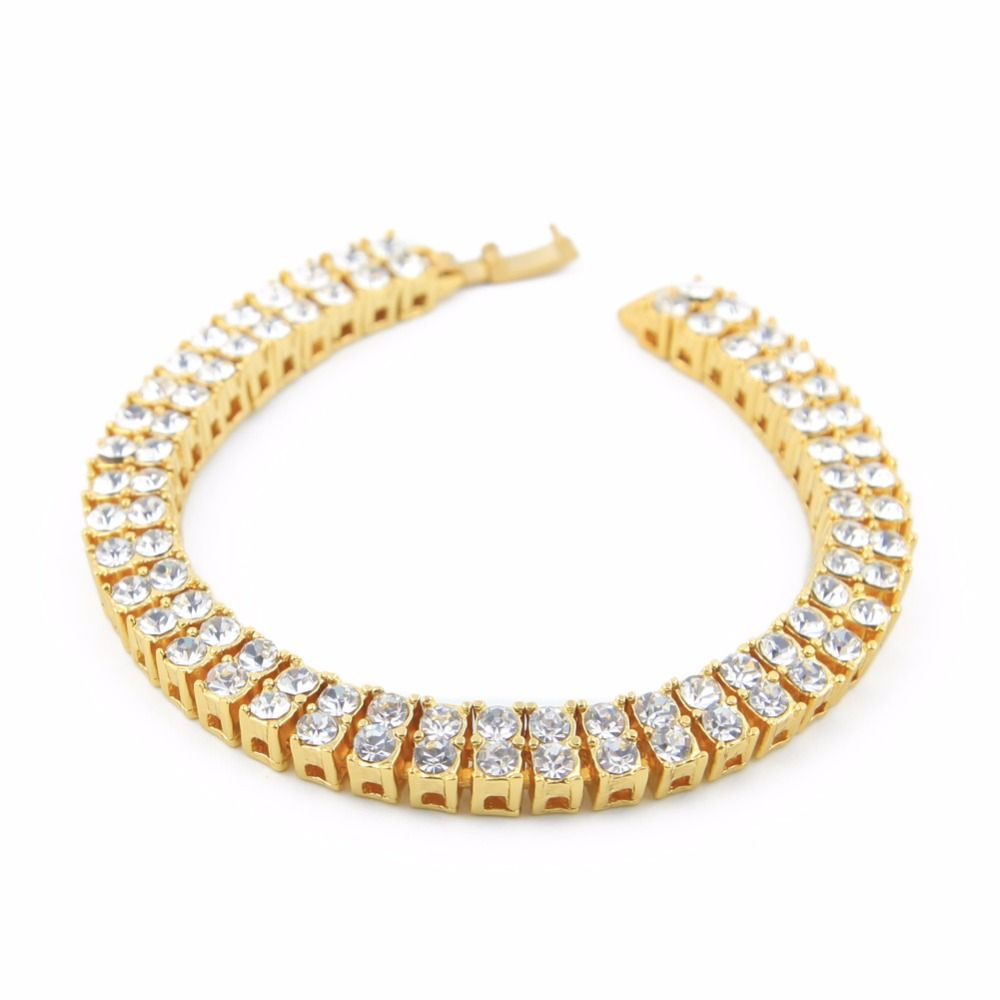new classic square mm tennis bracelets for woman and men