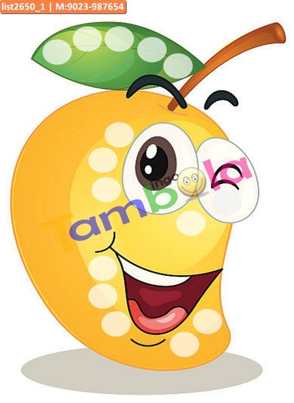 Mango Anywhere 3 As Designer Tambola In Tambola Housie Tambola