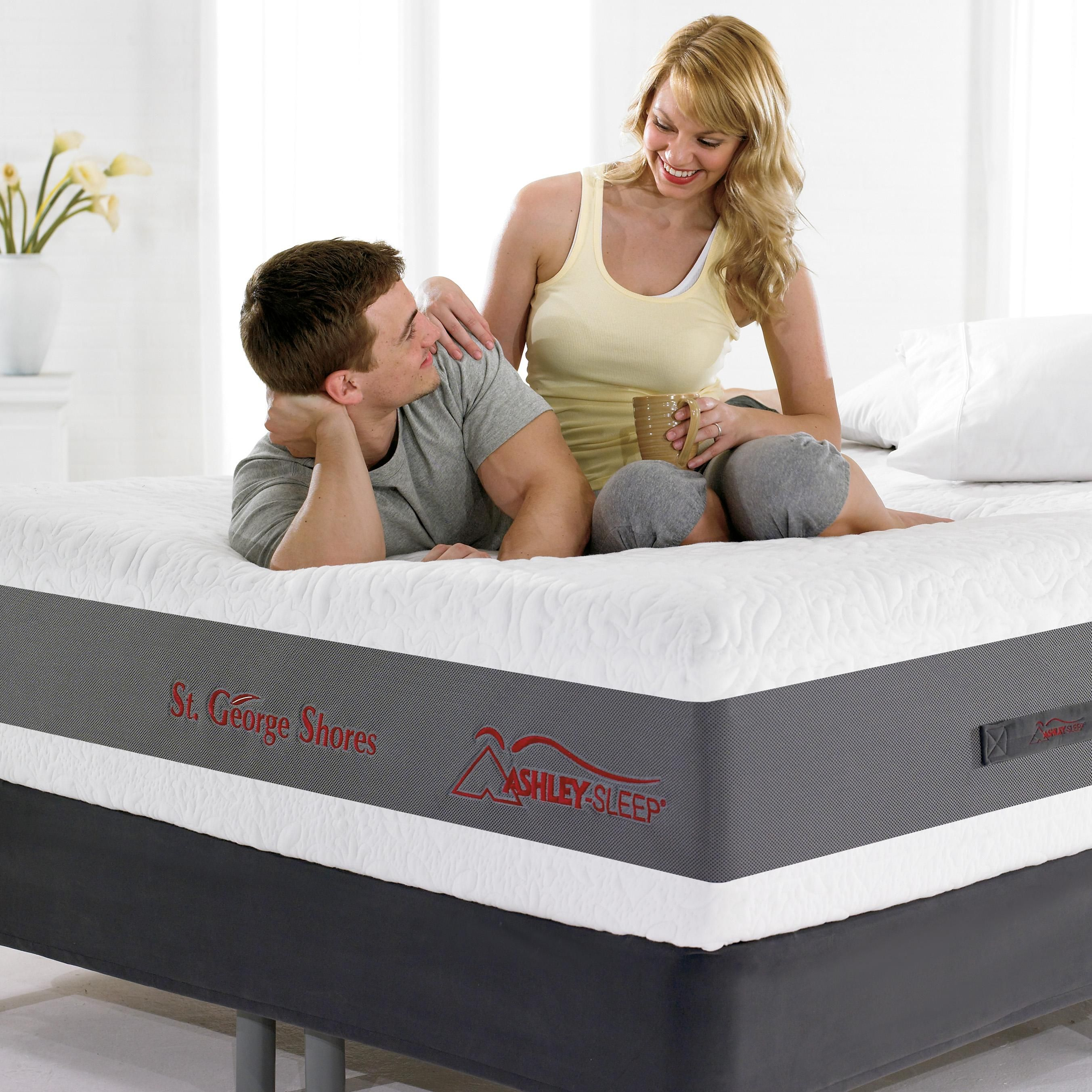 check out our new ashley sleep mattresses all of them have a full