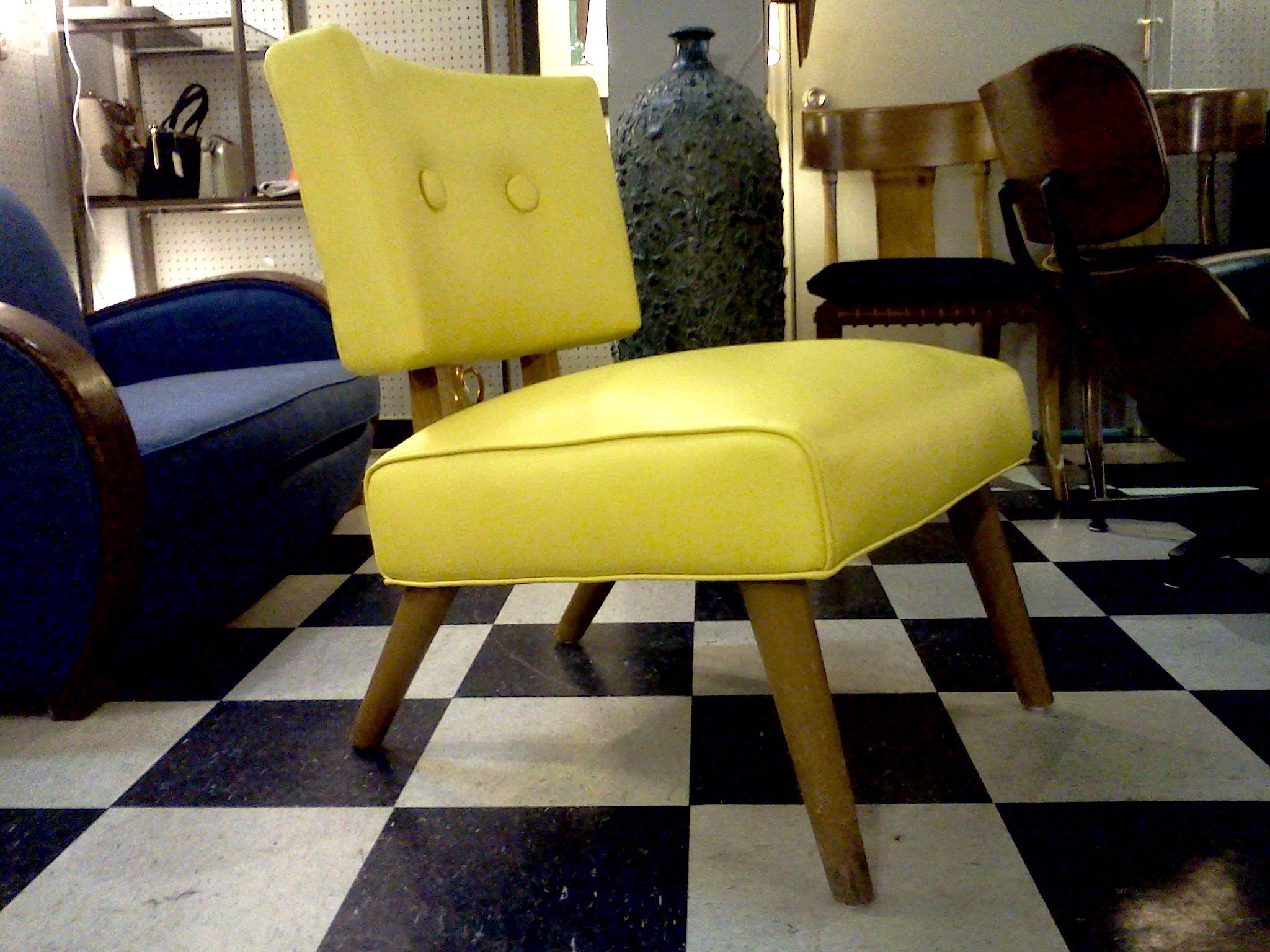 Slipper Chair Cool Stuff Houston Mid Century Modern Furniture