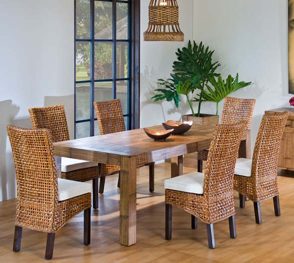 42++ Dining set with wicker chairs Best Seller