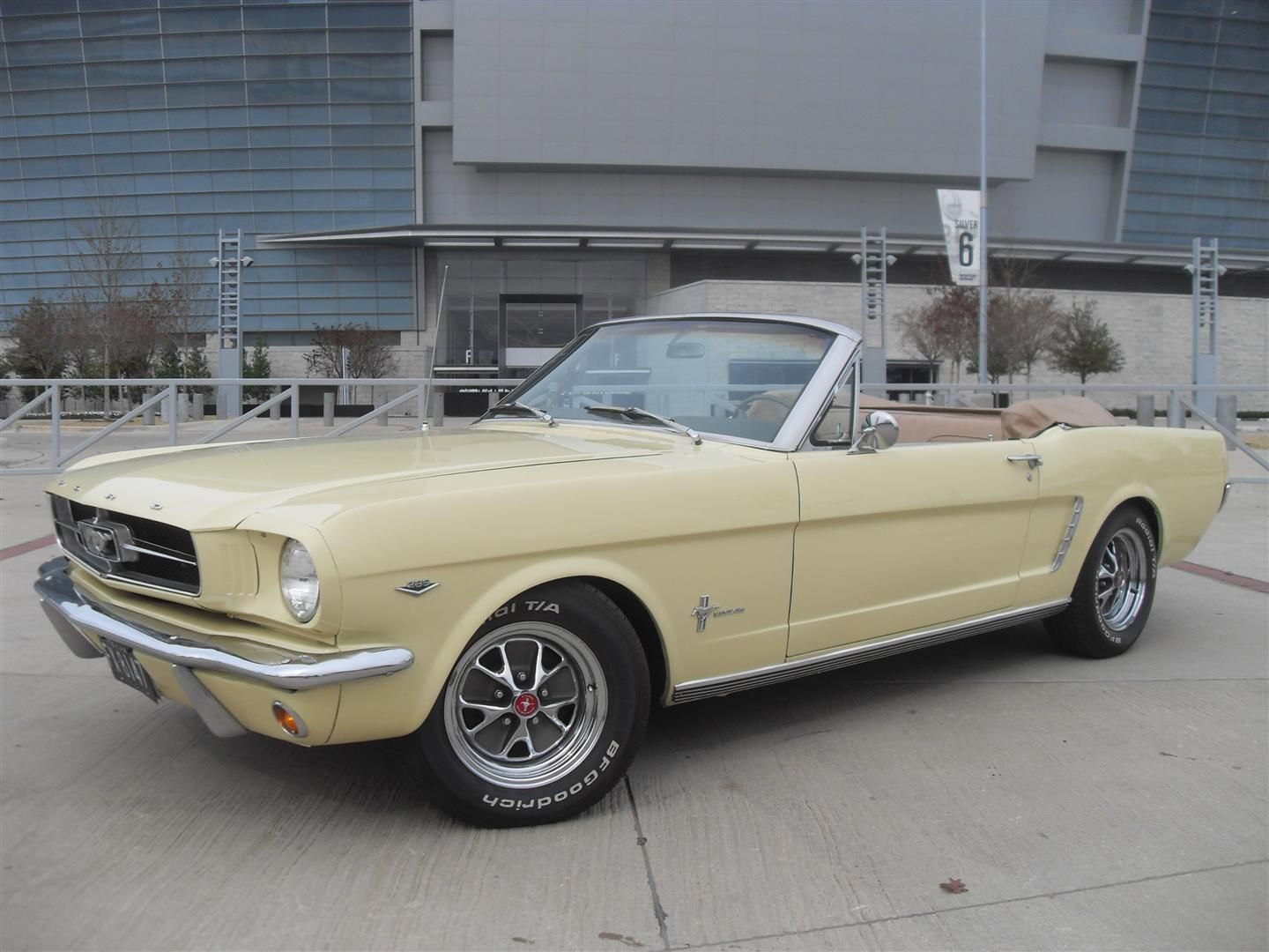 65 Mustang Convertible My Mother Wanted This Yellow One In 65 But Could Only Get The Powder Blue Wa In 2020 Mustang Convertible 65 Mustang Convertible Dream Cars
