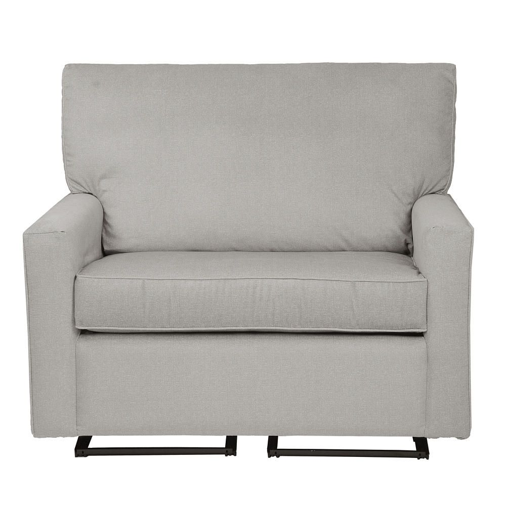 Wide Glider Chair 24 Inch Welcome The Sophie And A Half By Little Castle Into Your Home This Extra