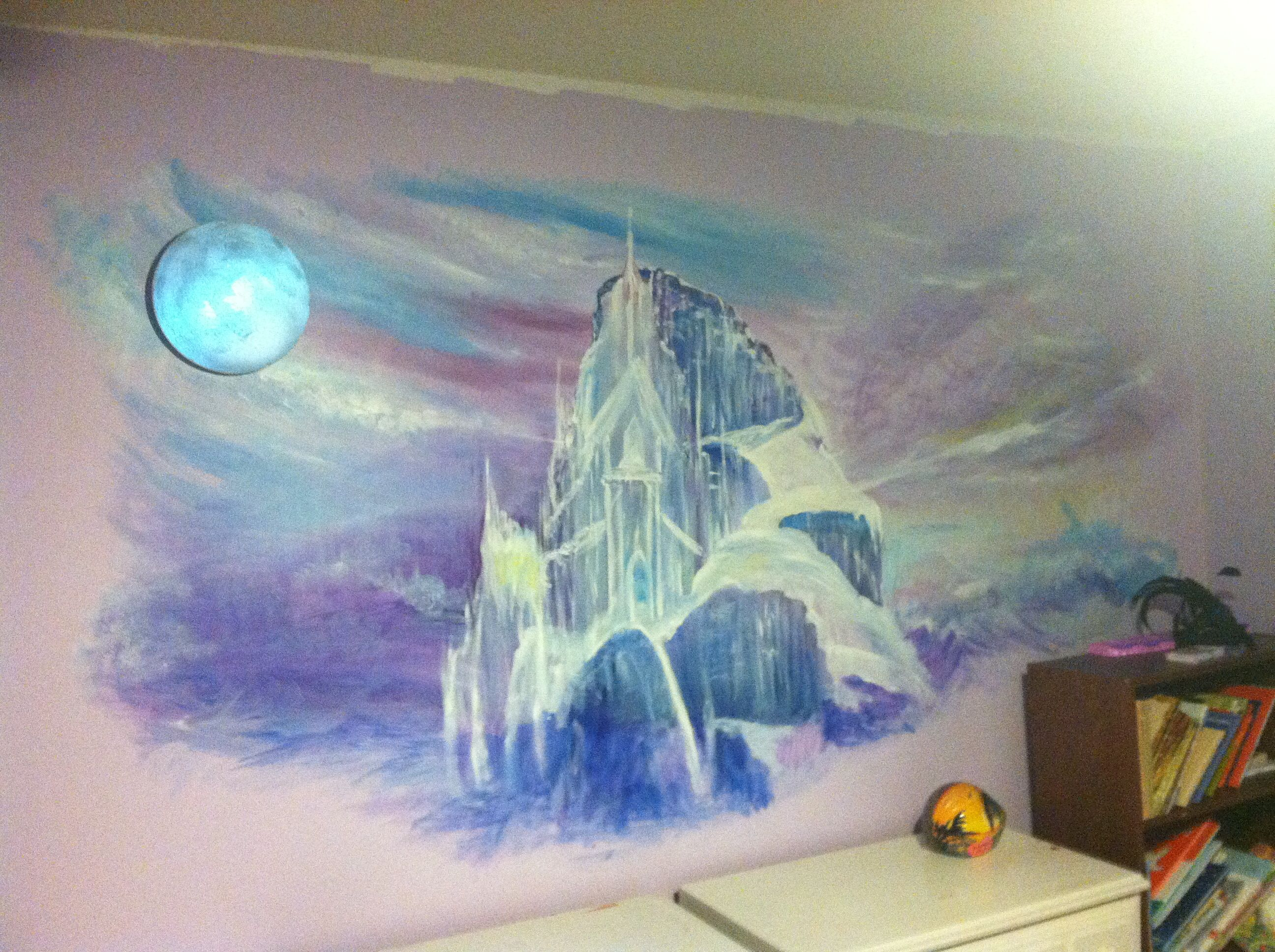 Einin S Room Elsa Frozen Ice Castle