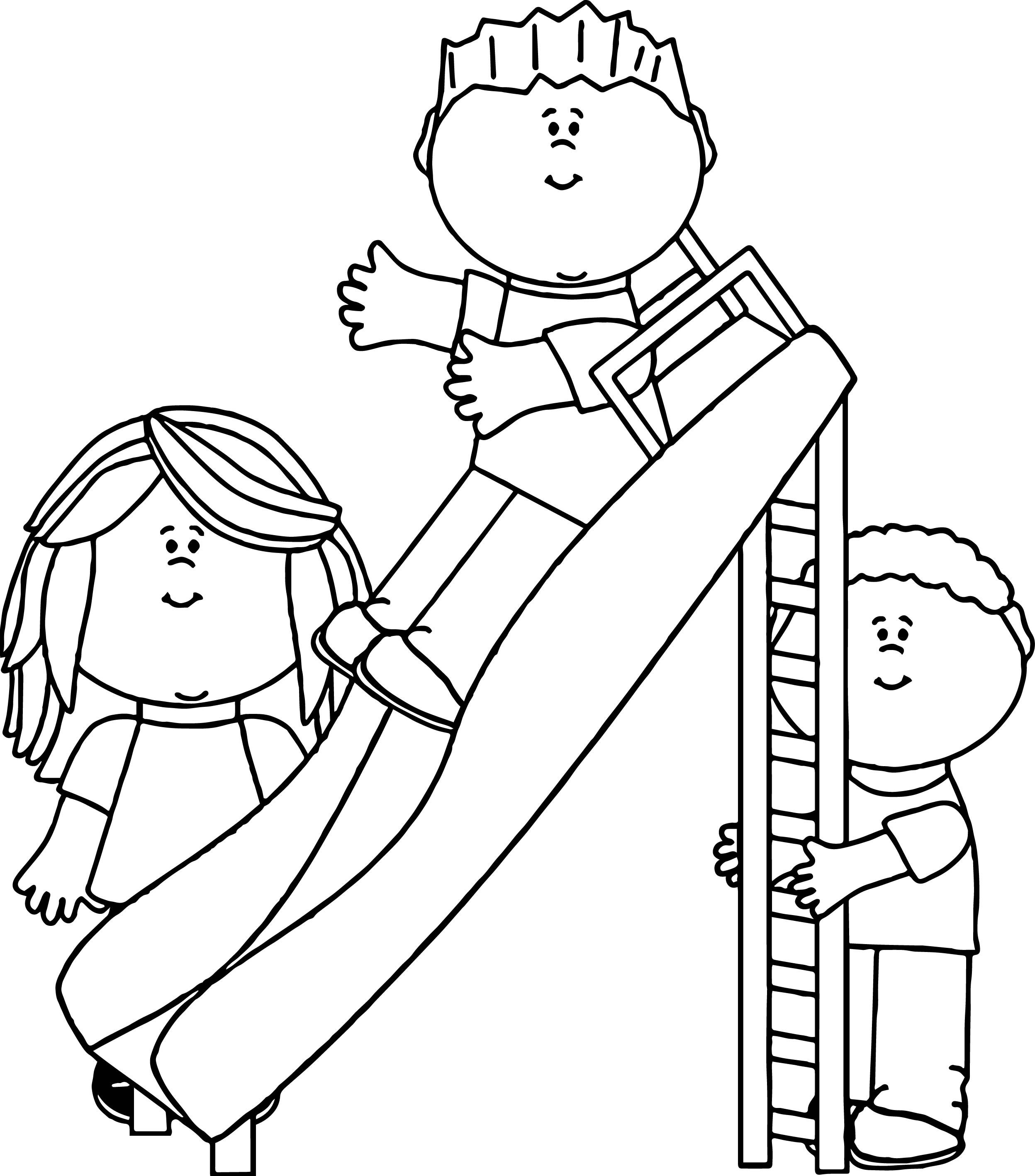 Awesome Kids In The Park Coloring Page Coloring Pages Cool Coloring Pages Coloring Books