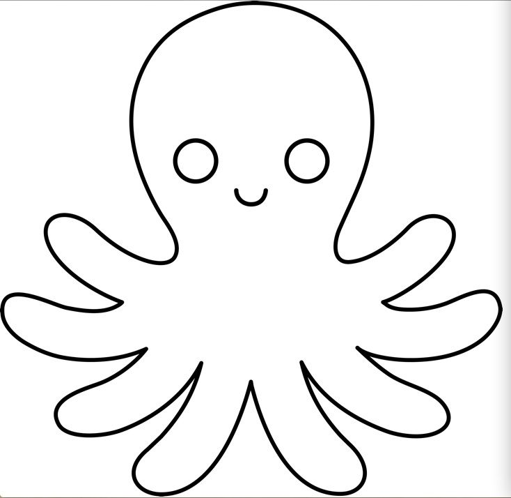 Octopus | Side Projects | Pinterest | Template, Craft and Stenciling