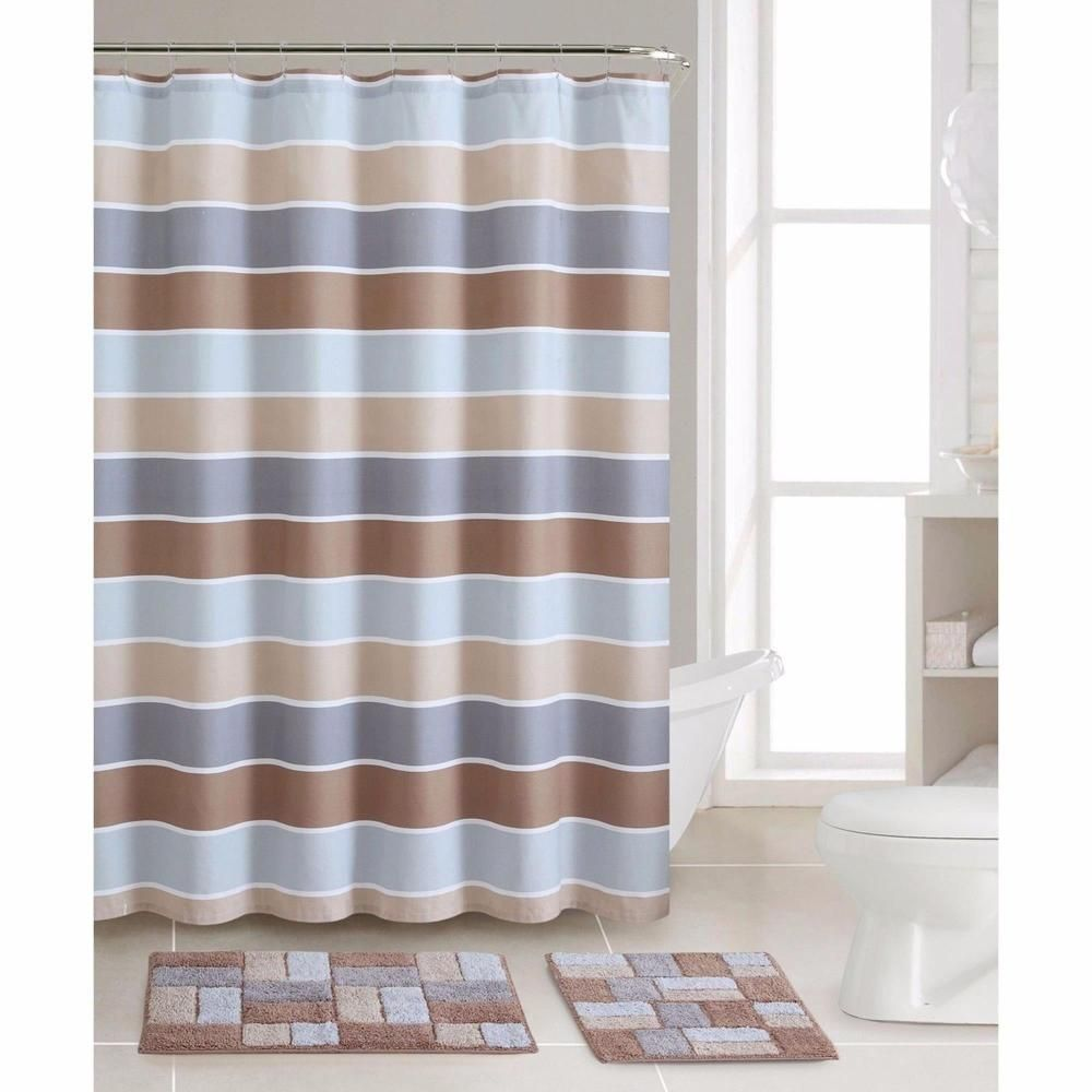 29 Perfect Bathroom Sets With Shower Curtain And Rugs #BathroomSets ...