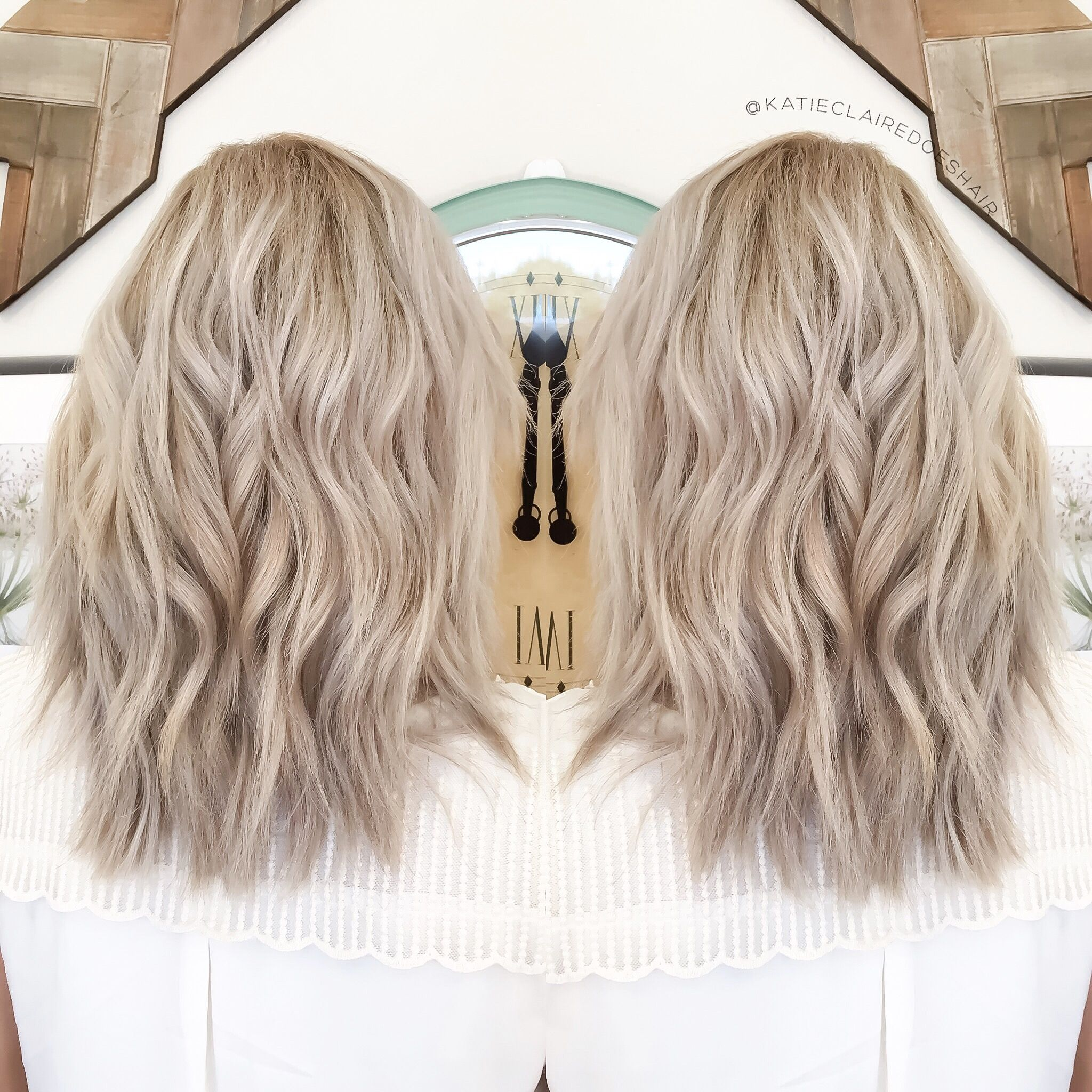 Ashy Blonde Olaplex Ash Blonde Cool Blonde Pretty Pretty
