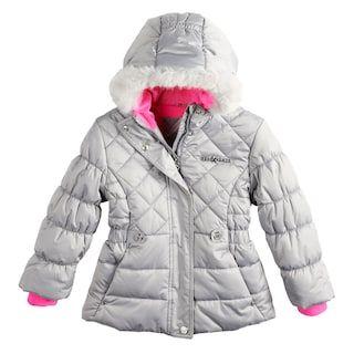 e6a4e50c403f Girls 4-16 ZeroXposur Lexy Faux-Fur Trim Heavyweight Puffer Jacket ...