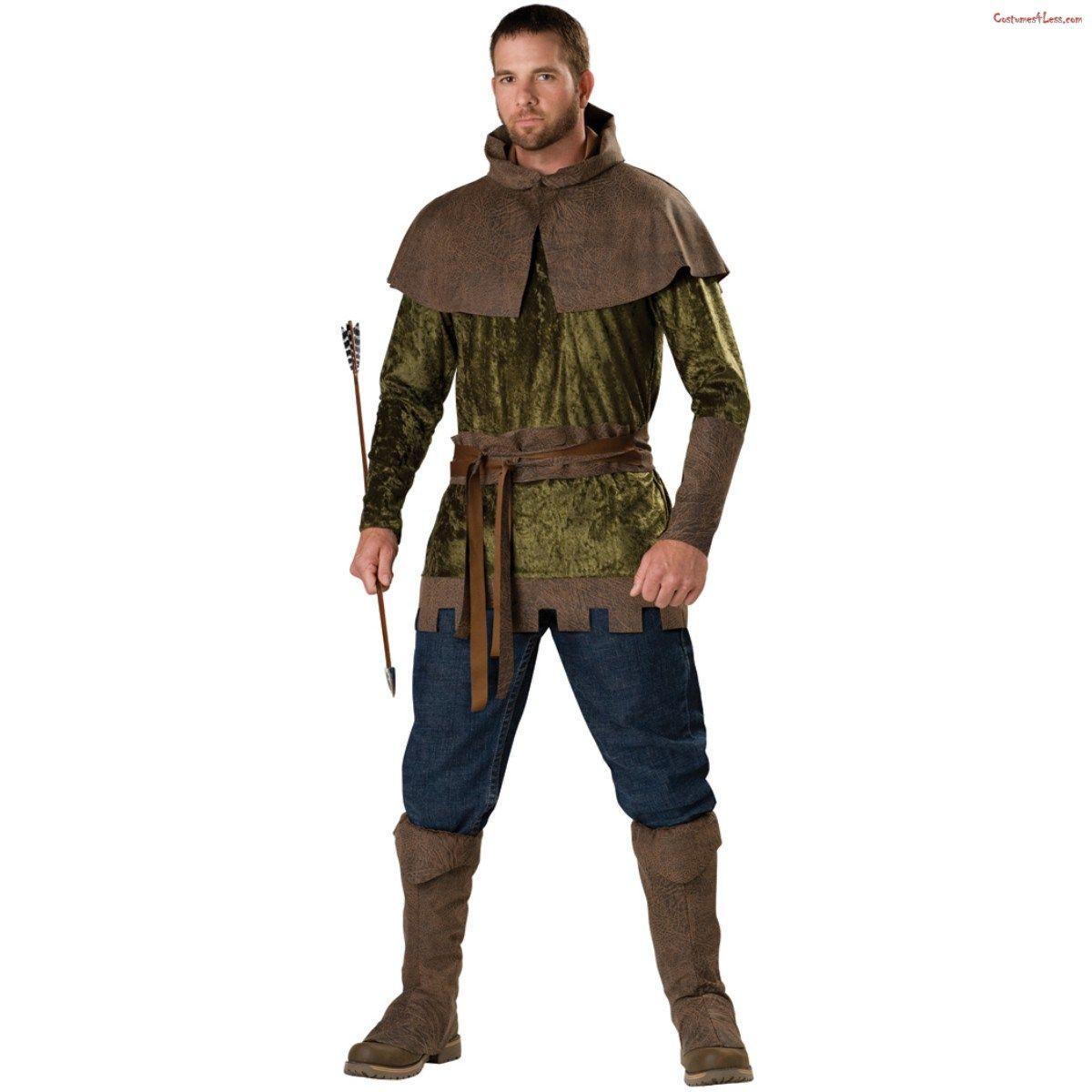 Renaissance Full Figure Deluxe Robin Hood Adult Costume
