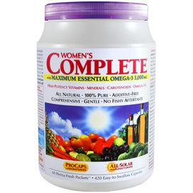Multivitamin - Women's Complete™ with Maximum Essential Omega-3 1,000 mg