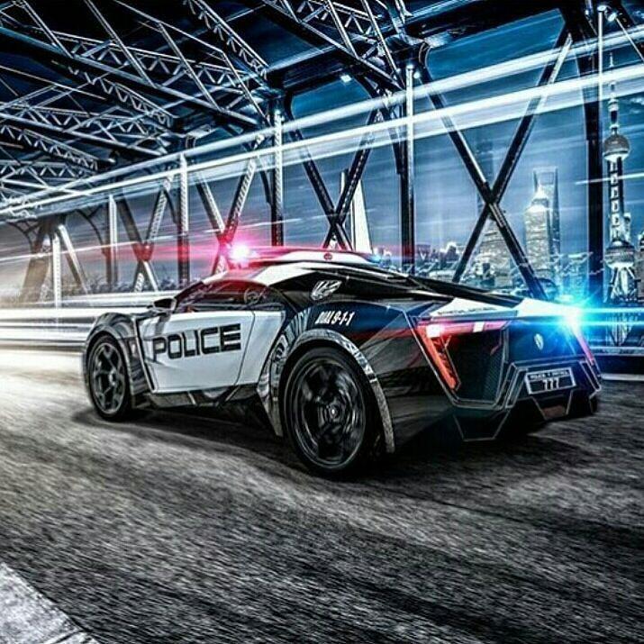 Lykan Police Car Lykanhypersport Lykan Instasize Instagram