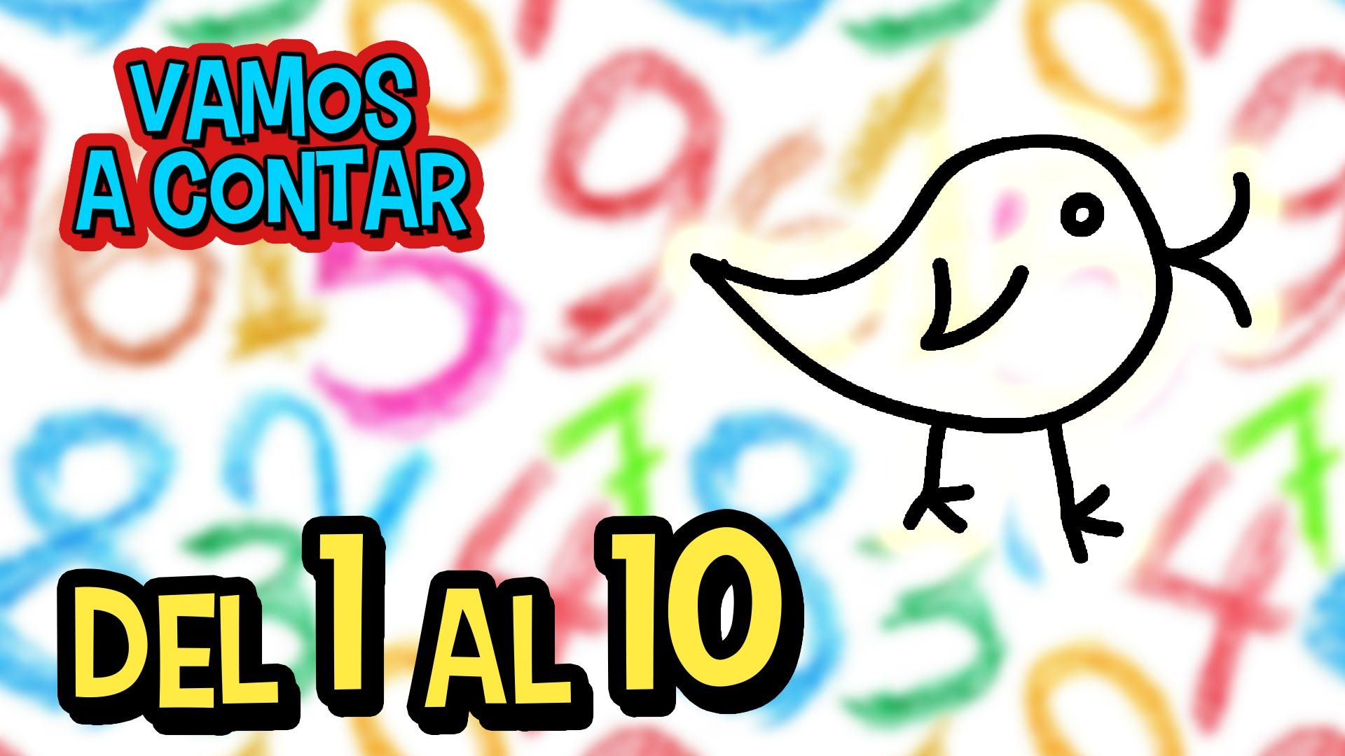 Vamos A Contar Los Numeros Del 1 Al 10 Video Educativo Para