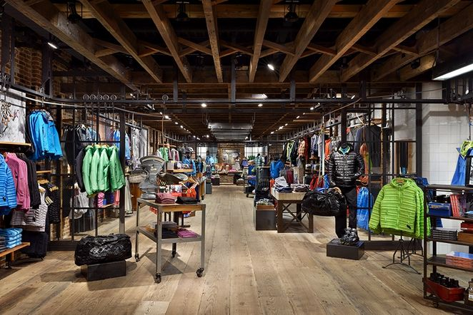 e2fe44ceba7 Reclaimed materials connect Patagonia store with neighborhood ...