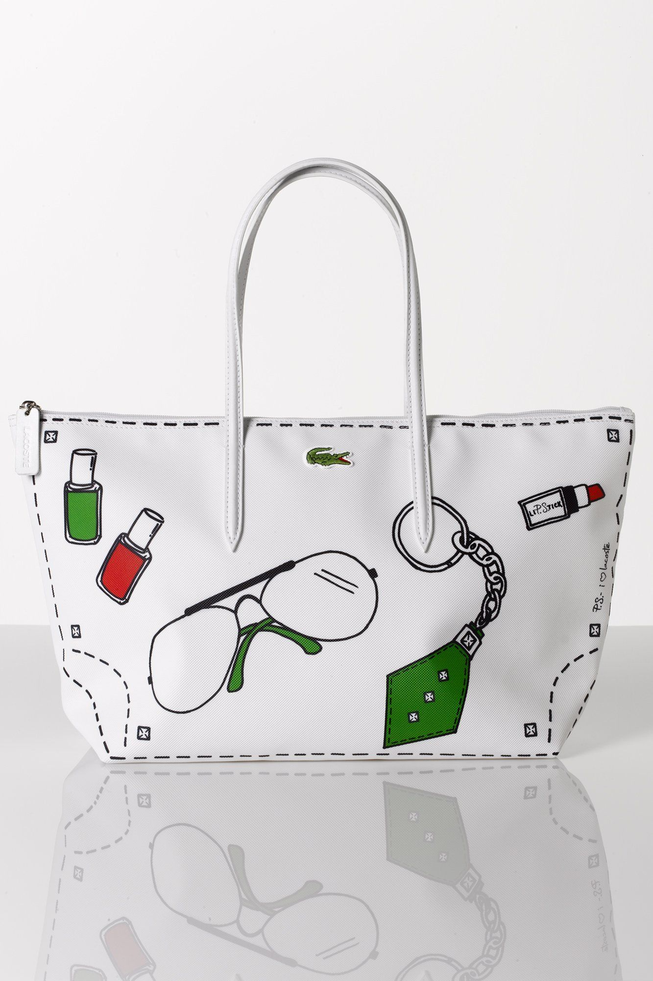 52685e7753 Lacoste L.12.12 bag by Erica Domesek of P.S.- I made this... | P.S. ...